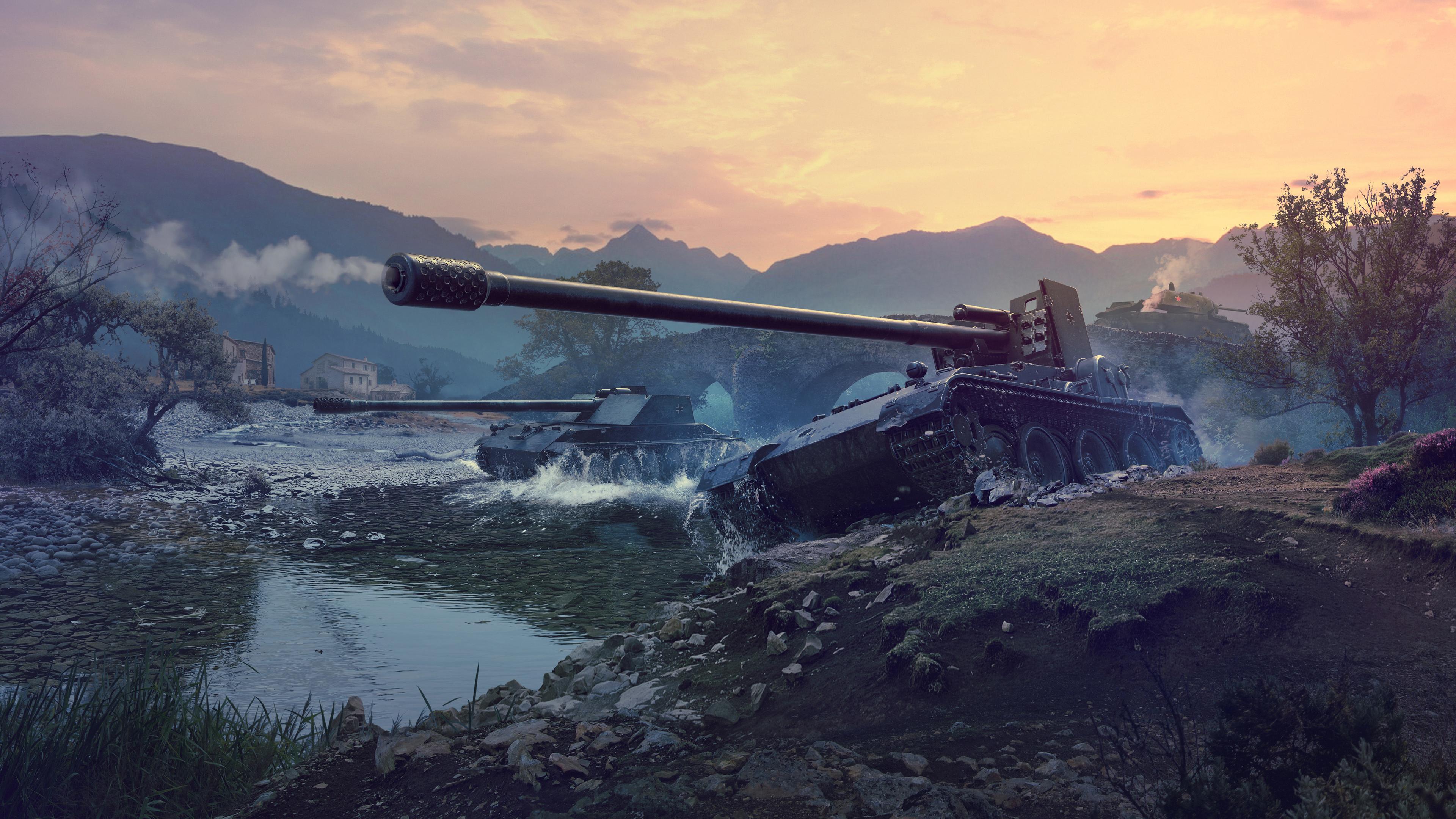 World Of Tanks Guide Tank Art Wallpaper
