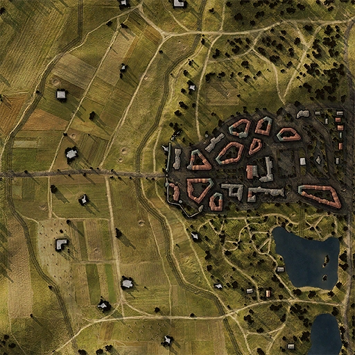 Siegfried Line Map