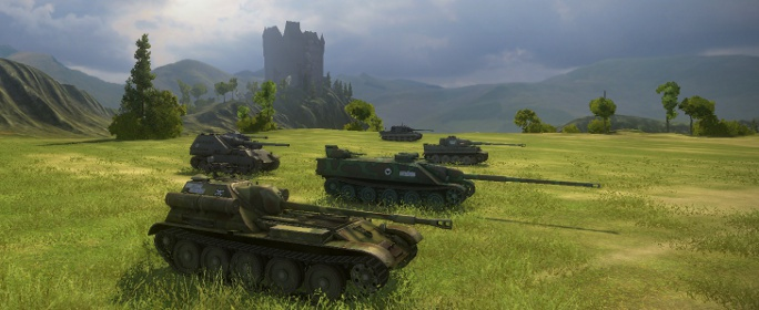 World Of Tanks Consoles